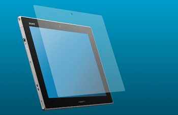 Blue Light Cut & Bubble-less Film Set for Xperia Tablet Z Anti-glare