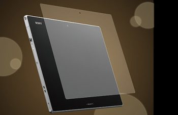 Bubble-less Film Set for Xperia Tablet Z Anti-glare