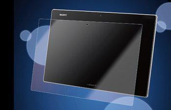 Bubble-less Film Set for Xperia Tablet Z Crystal Clear