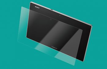 Protector Film Set for Xperia Tablet Z Crystal Clear