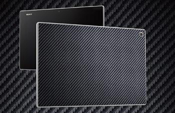 テクスチャー Back プロテクター for XperiaTablet Z
