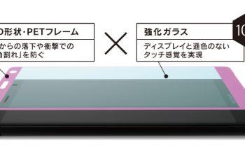 [FLEX 3D] 3D フレームガラス for Xperia XZ2 Premium