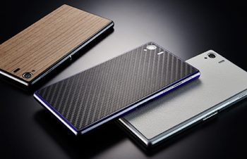 Textured Double Film Set for Xperia Z1
