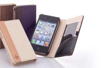 フリップノートケース for iPhone 4S