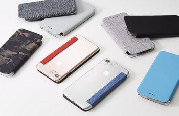 [FlipShell] 背面クリア フリップノートケース for iPhone 7/6s/6(4.7インチ)