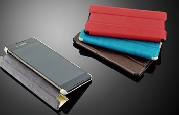 Flip Shell Case for Xperia Z4