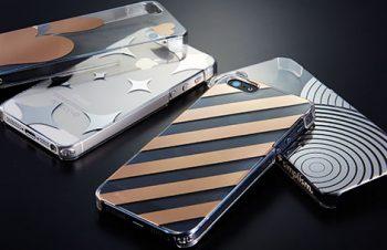 フローティングパターン カバーセット for iPhone 5s