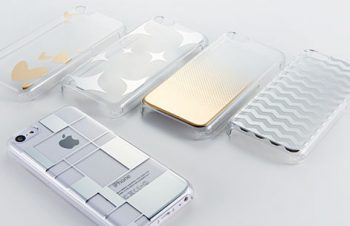 フローティングパターン カバーセット for iPhone 5c