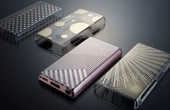 Floating Pattern Cover Set for WALKMAN F800