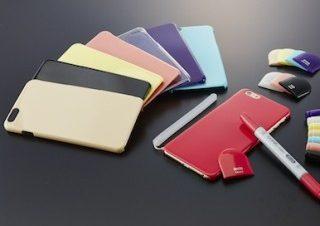 コピックカラーのiPhone6/6 Plus用ケース登場 – 極薄でも割れない新素材! | マイナビニュース