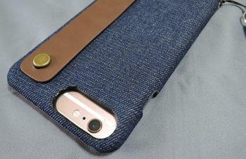 トリニティの背面バンド付きiPhone 7 Plus用ファブリックケース「[NUNO] Fabric Case Rear Band for iPhone 7 Plus/6s Plus/6 Plus(5.5インチ)」を試す