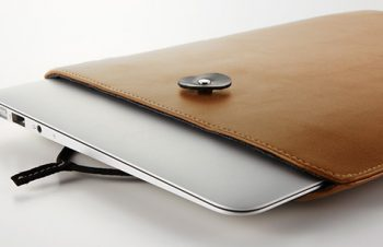 Book Sleeve Air Leather