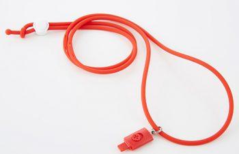 ライトニングストラップ for iPod – レッド