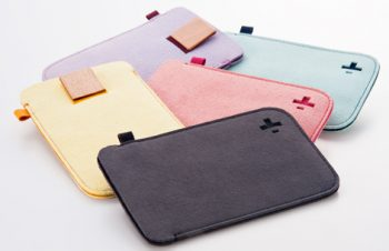 Microfiber Sleeve セット for iPod touch (4th)(販売終了)