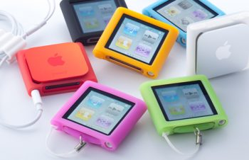 Silicone Case Set for iPod nano (6th) 2011