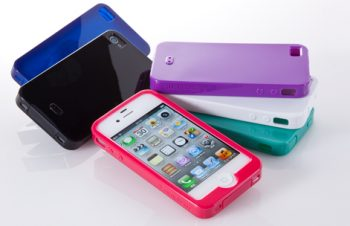 Semi Hard Case Set for iPhone 4S