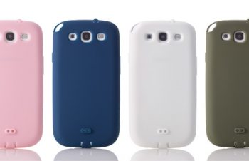 Silicone Case Set for Galaxy S3 α