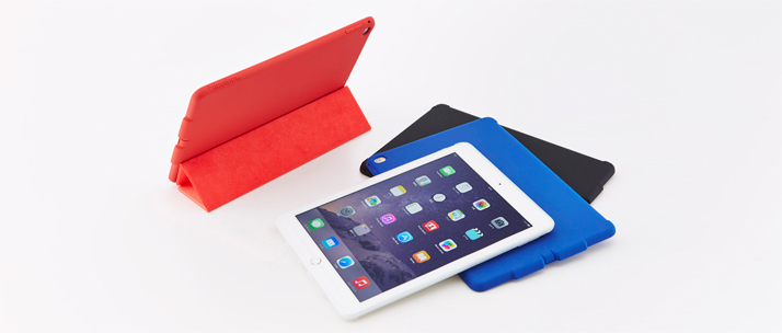 silicone case with sound horn for ipad air 2 トリニティ