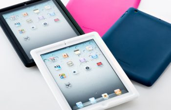 Silicone Case Set for iPad 2