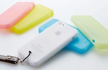 シリコンケースセット for iPhone 5c