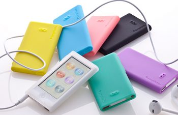 Silicone Case Set for iPod nano (7th)