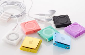 Silicone Case Set for iPod shuffle (4th) 2012
