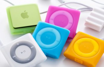Silicone Case Set for iPod shuffle (4th)