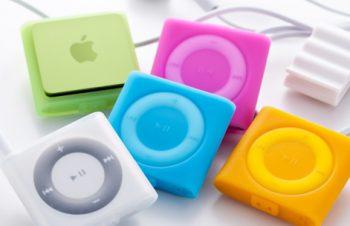 シリコンケースセット for iPod shuffle (4th)