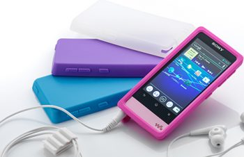 Silicone Case Set for WALKMAN F800