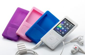 Silicone Case Set for WALKMAN S770