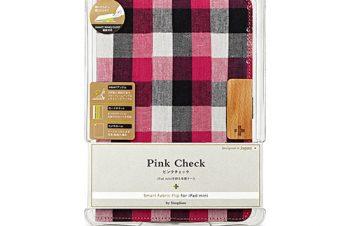 スマート ファブリック Flip for iPad mini – ピンク