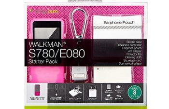 スターターパック for WALKMAN S780/E080/S15/S14 – ピンク