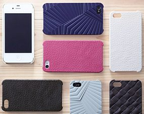 日本にしかできない高度な技術による「純日本製」プロダクト、「次元シリーズ iPhone 4/4S用 3Dテクスチャーカバー」が完成、販売を開始