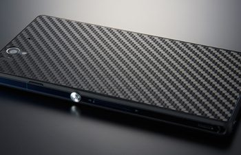 Texture Film Set for Xperia Z Carbon Finish