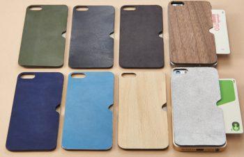 背面 カードポケット テクスチャーシート for iPhone SE/5s/5