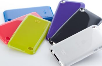 TPU ケースセット for iPod touch (4th)