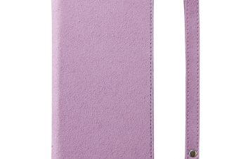 iPhone XS [FlipNote Slim] クラリーノ フリップノートケース スマートON/OFF – ピンク