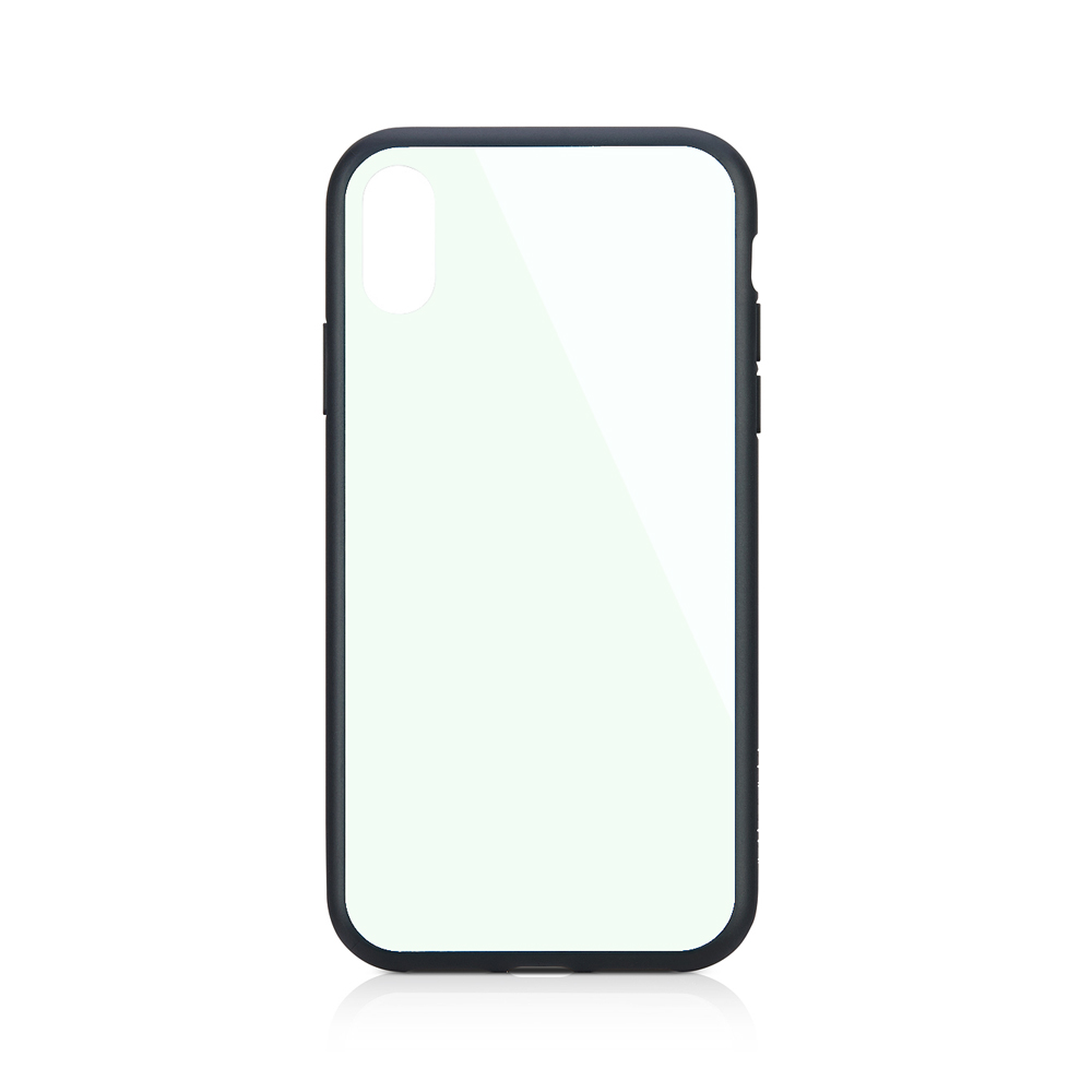 iPhone XR [GLASSICA] 背面ガラスケース(Solid color) – ホワイト