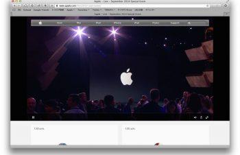Appleスペシャルイベントのストリーミングが不調