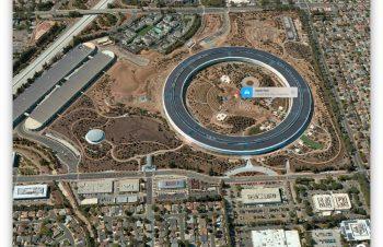 Apple新本社Apple Parkへ初詣