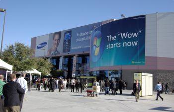 世界へのチャレンジ、ラスベガスでの家電ショーに出展