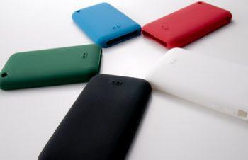 iPhone 3G用シリコンケースにおけるカラバリの比率
