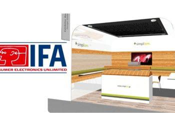 ヨーロッパを目指して、IFA2013に出展。