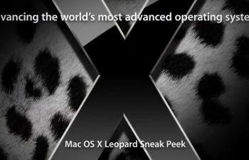"""Mac OS X """"Leopard""""の発売が10月に延期"""