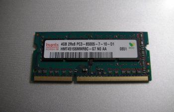 メモリーを6GBに増設