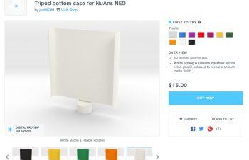 [NuAns NEO]公開3Dデータを使ったカバーデザインのあれこれ