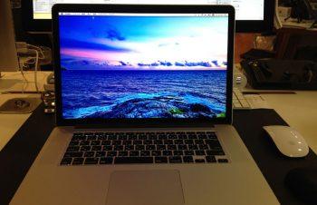 MacBook Pro Retinaモデルへの移行(現在進行形)