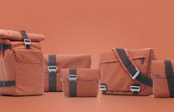 エコロジーなテクノロジーを使ったBlueloungeバッグシリーズにRustカラーを追加