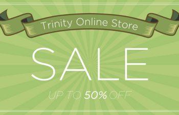Trinity Online Store「期末処分セール 2016」開催