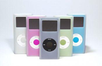 だれよりも早く、iPod nano(2nd)用シリコンケースを発売開始
